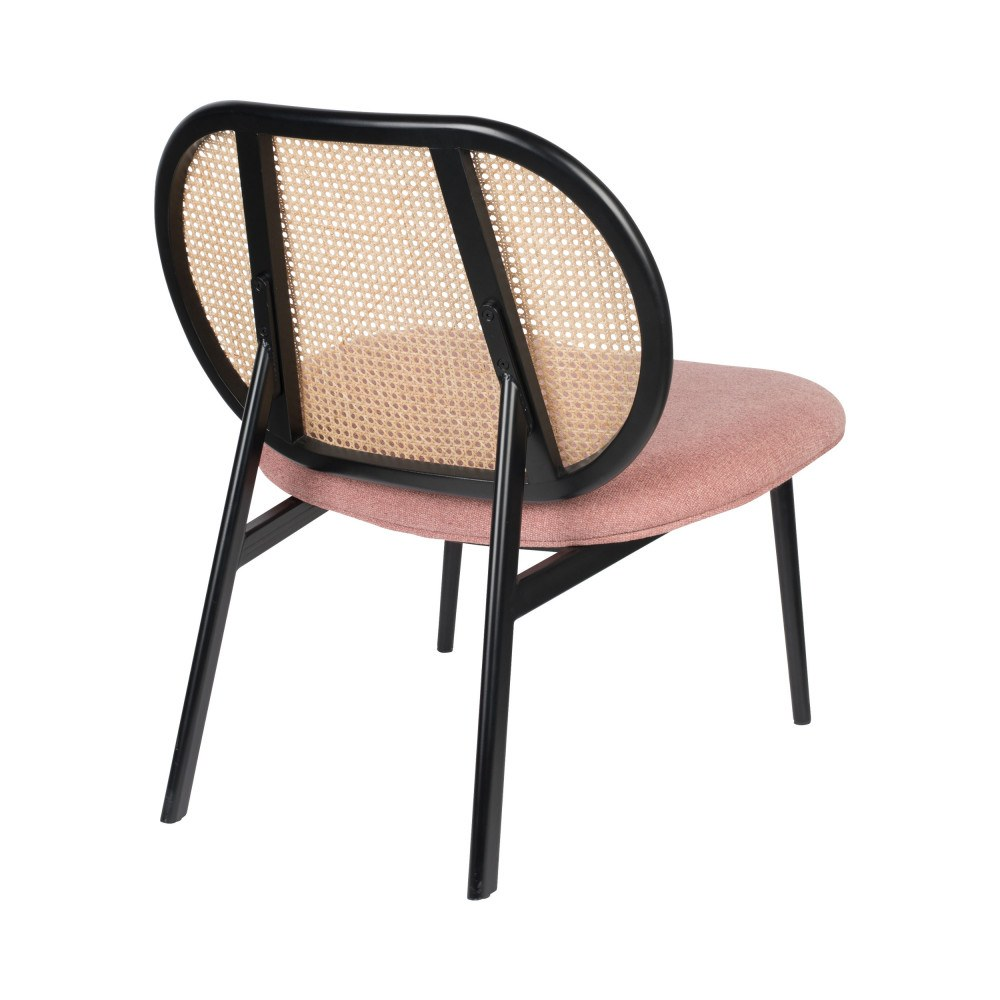 fauteuil lounge rose 3
