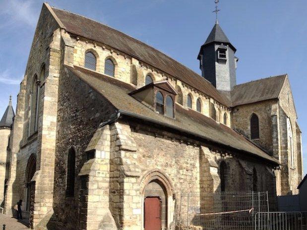 Pacy-sur-Eure église Saint Aubin