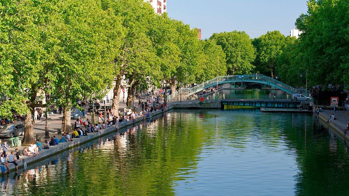 Canal Saint Martin Kyriad 10eme Paris