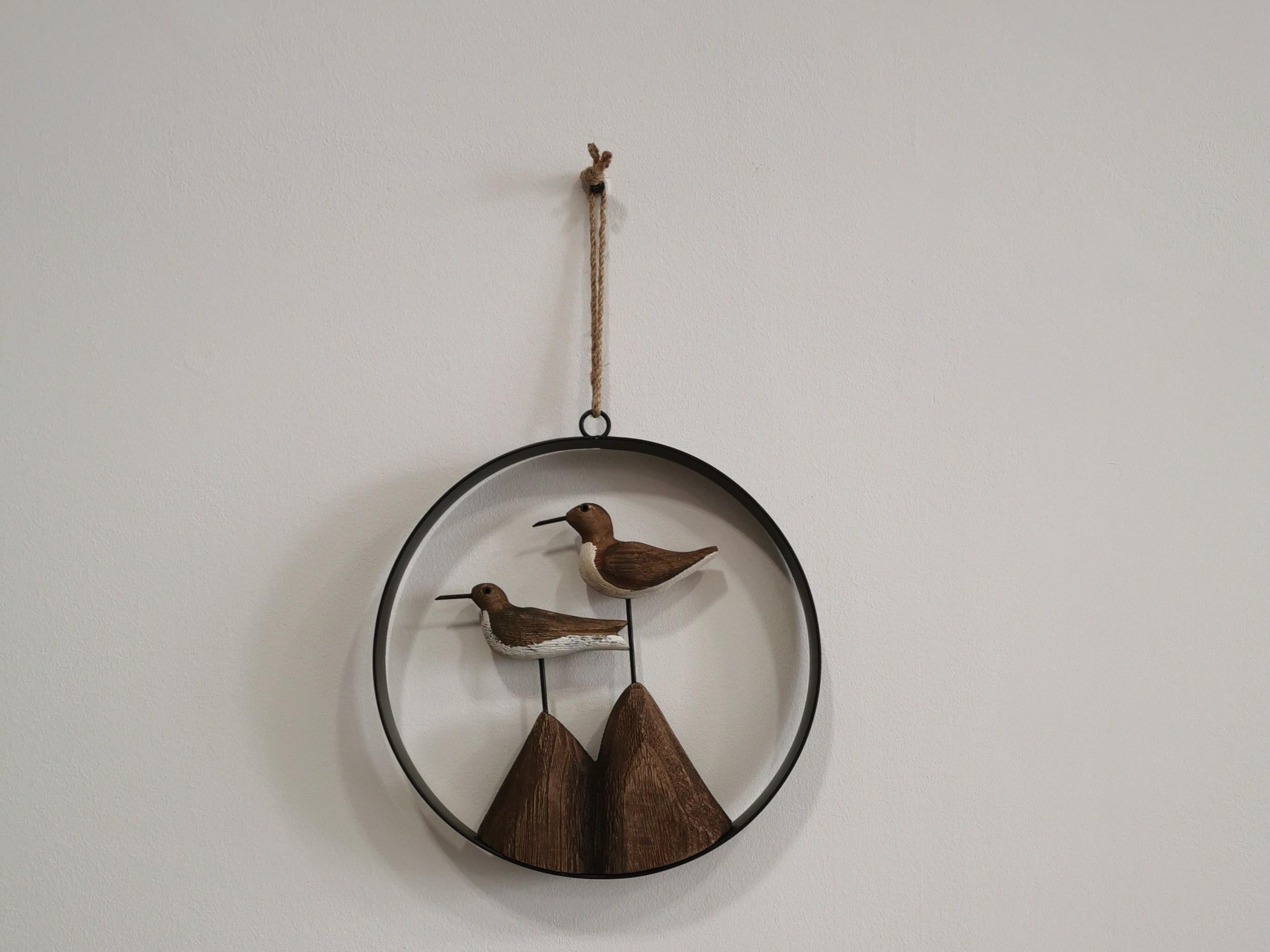 oiseaux suspendus