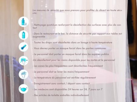 MESURES DE SÉCURITÉ ET PROTOCOLES DE L'HÔTEL KANZ ERREMAL 2020 CONTRE COVID-19.