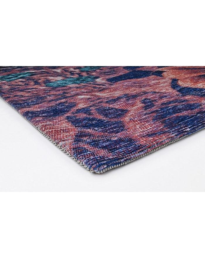 tapis déco bleu 1