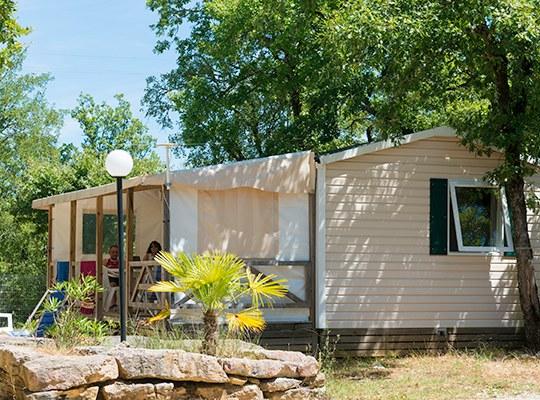 MOBIL HOME camping familial nature lot piscine occitanie