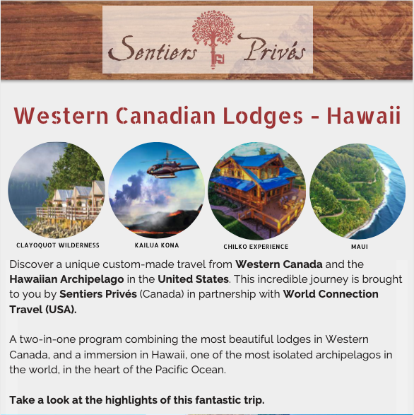 Western Canadian Lodges - Hawaii