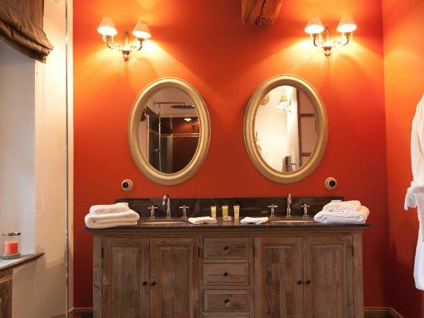 salle de bain maison hôtes luxe provence