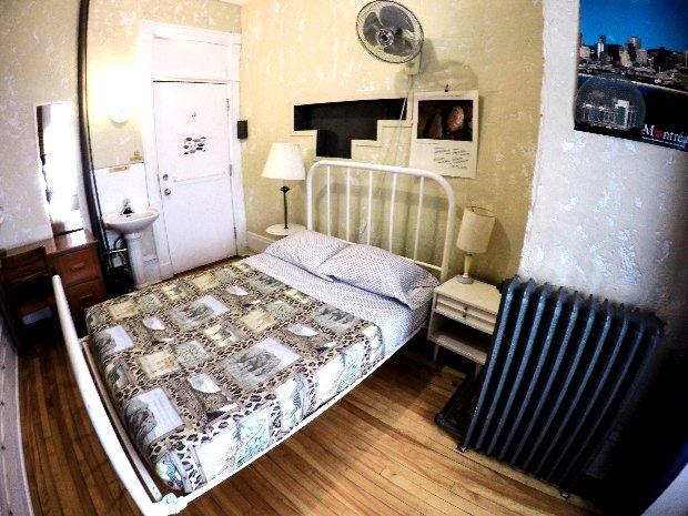 Chambre double Auberge Gîte du Plateau Mont-Royal