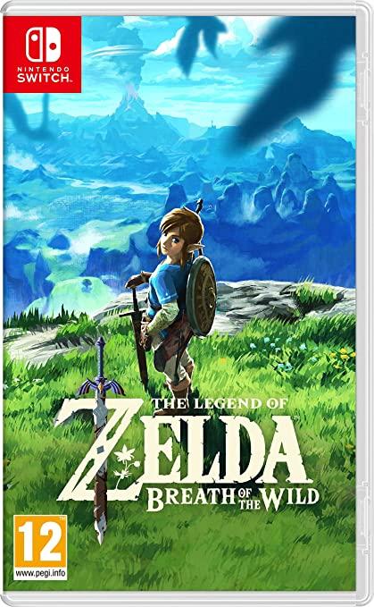 Zelda breath of the wild G4ME FOR ME Jeux vidéos actuels et Rétro Gaming à Monptellier