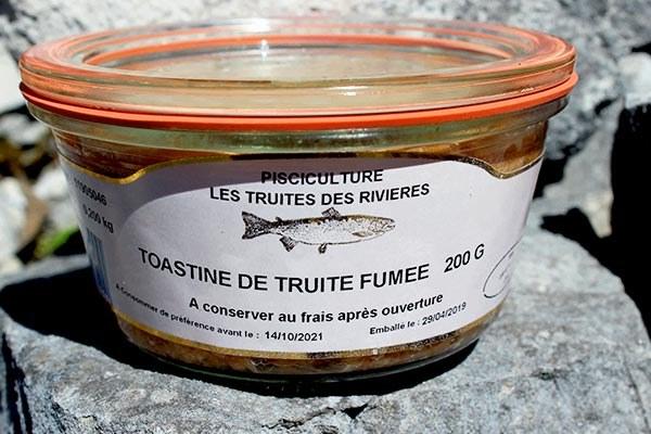 Toastine-de-truite-fumée
