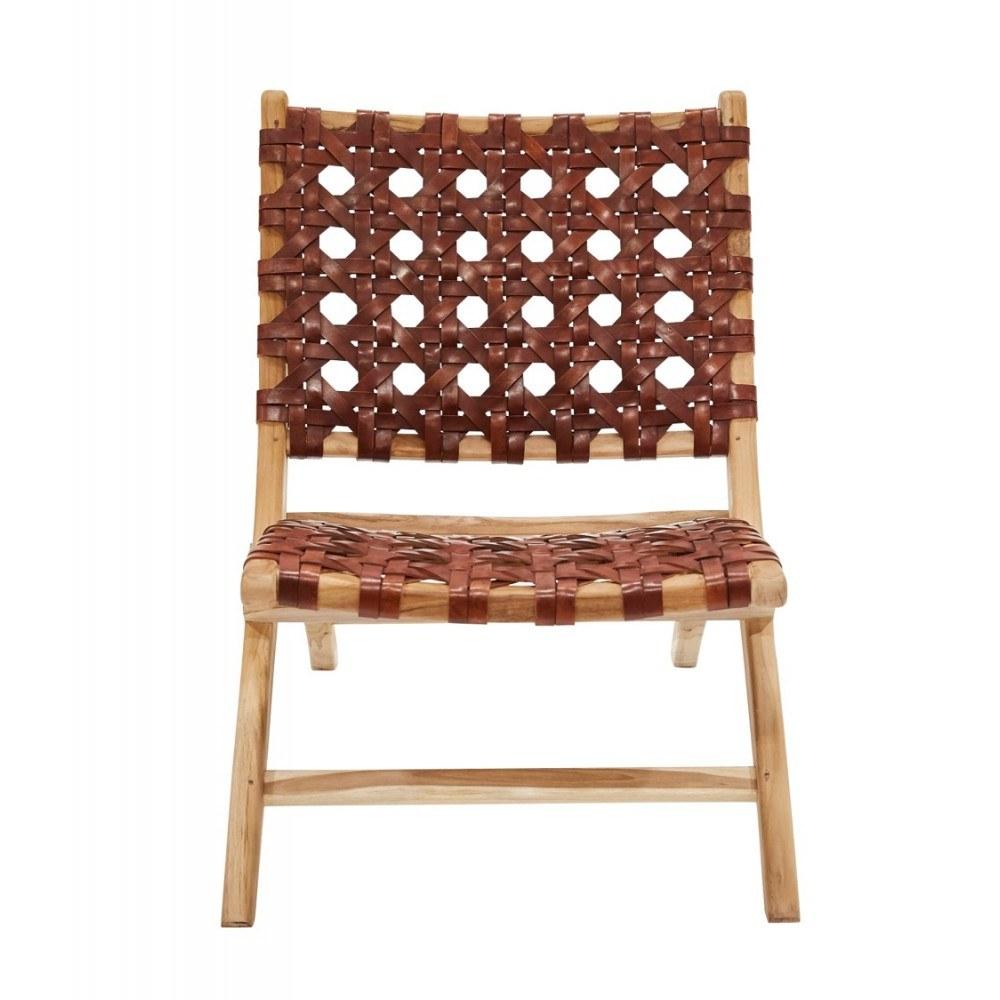 fauteuil-gardian-cuir-tresse 5