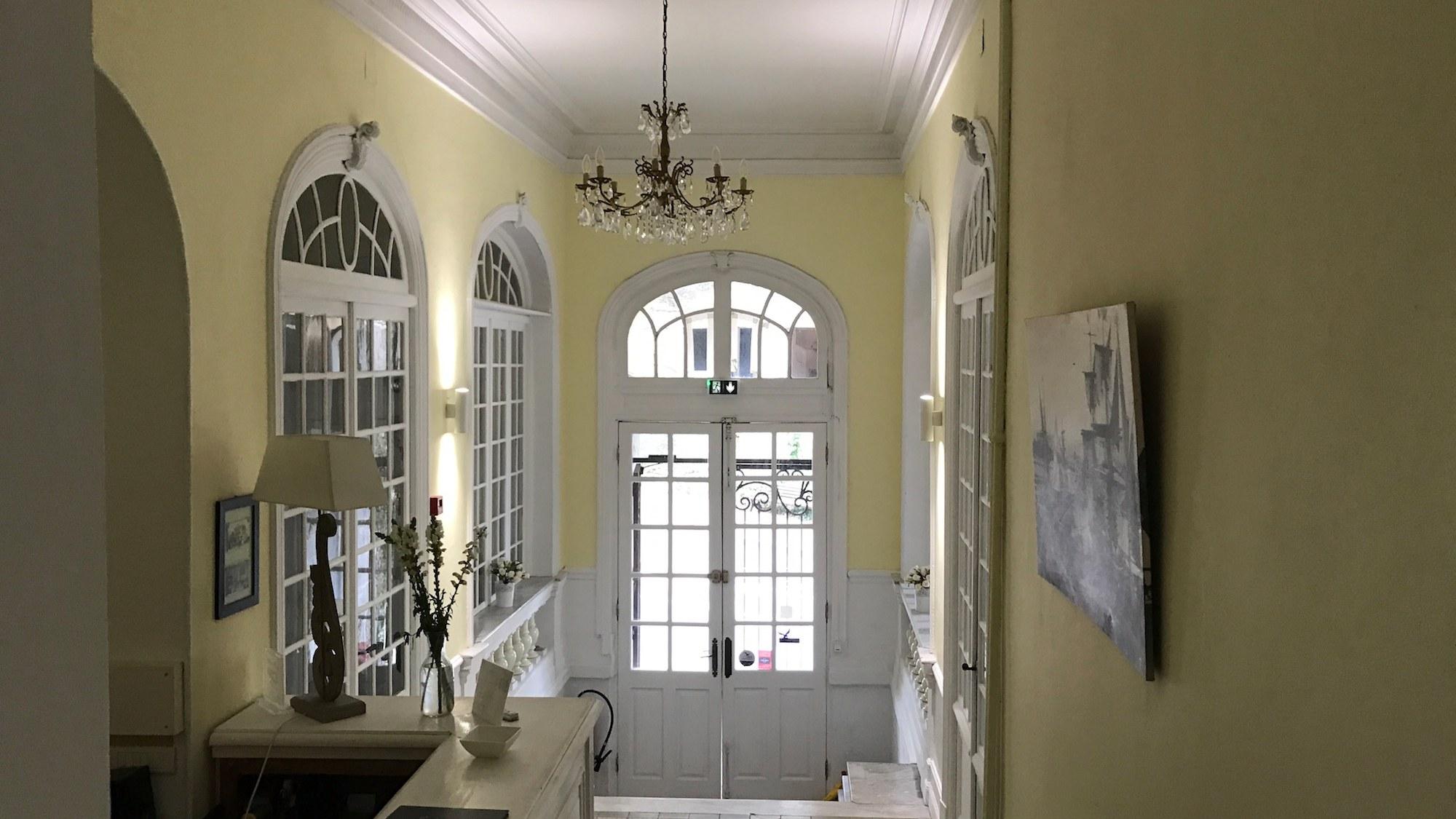 Réception Accueil Hotel Alexandra Juan les Pins Antibes Côte d'Azur