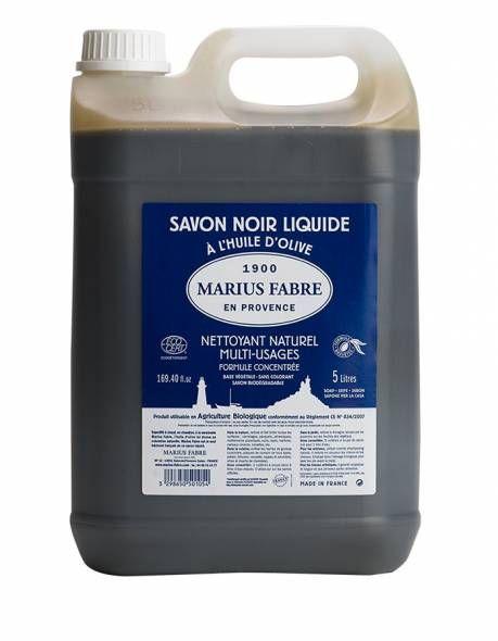 savon noir liquide - Marius Fabre - Les trésors de Valérie - Moselle