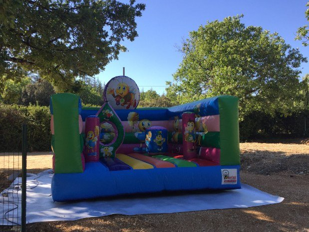 jeux gonflable camping ardèche