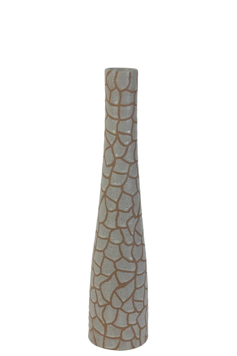 vase girafe blanc