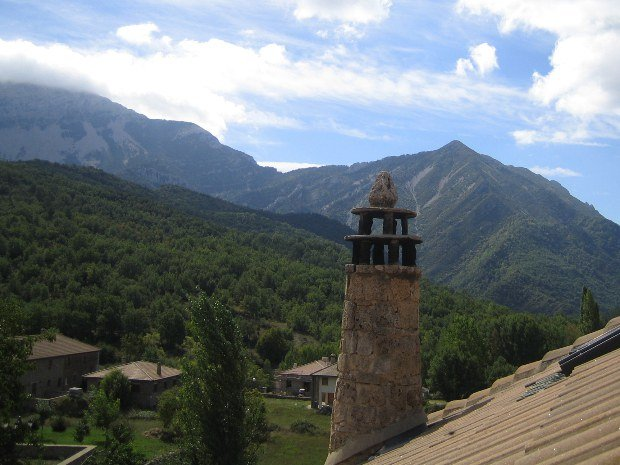 The aragonaise chimney