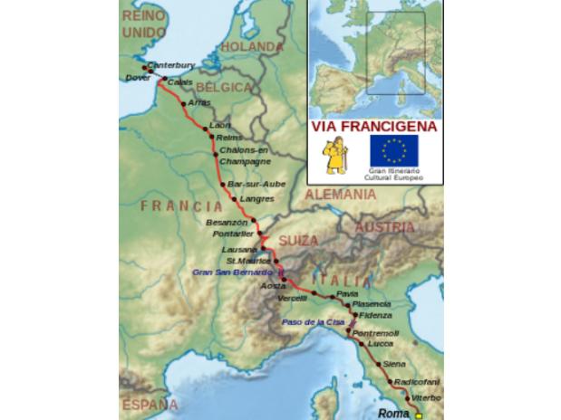 gite-en-champagne-baroville-via-francigena-carte