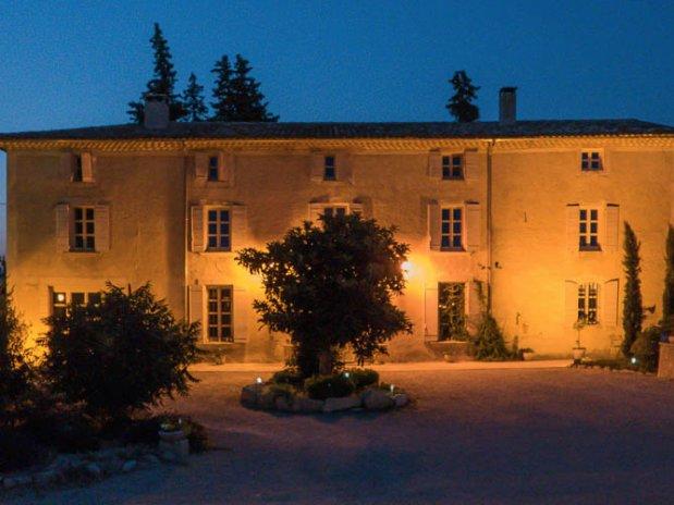 Facade Bastide brurangère Provence