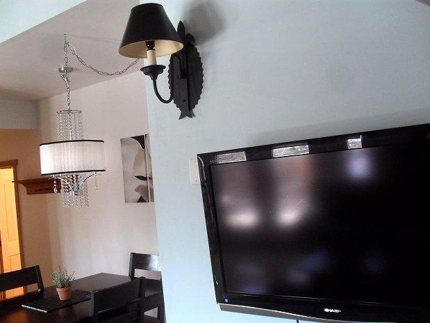 Flat TVs on all Suites