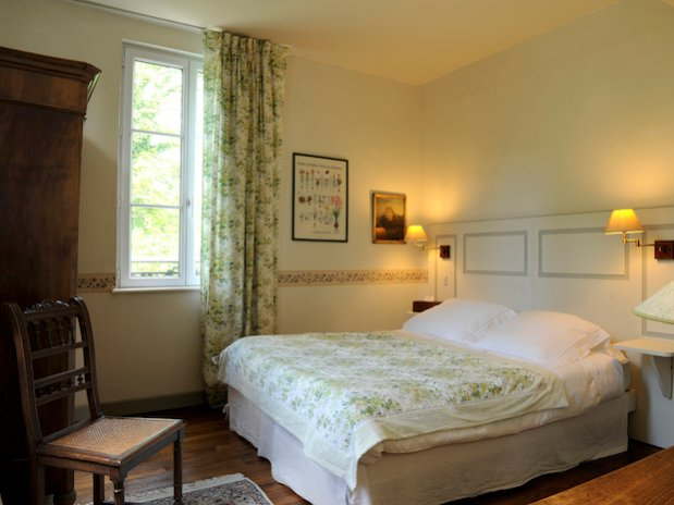 chambre verte Les Beauchots Troyes Champagne