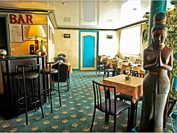 Bar et petit déjeuner Hotel de Clisson