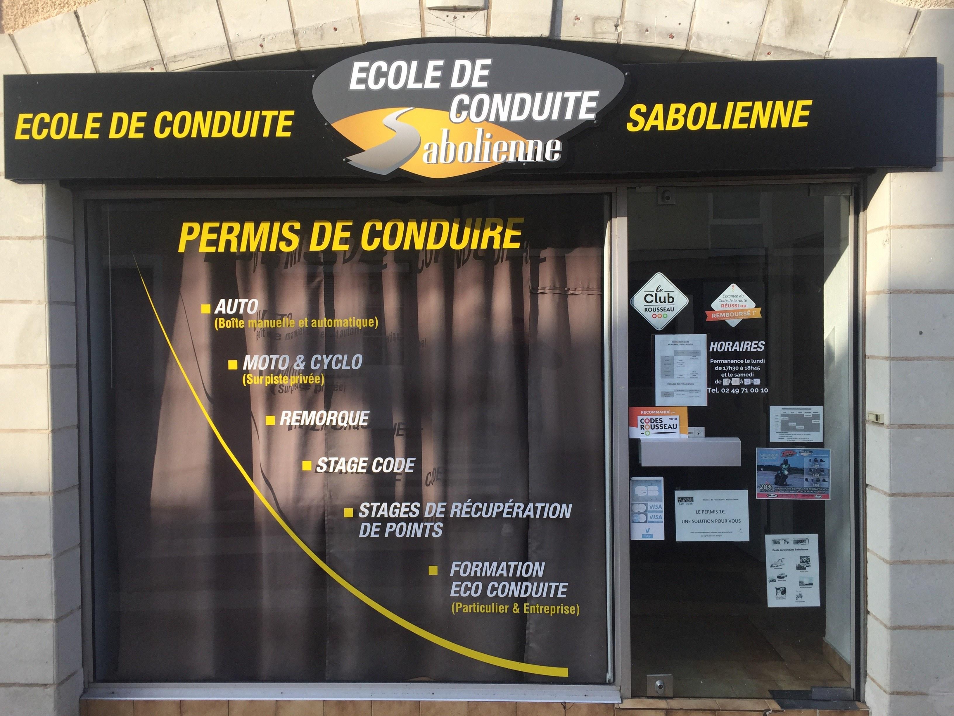 Ecole de conduite Sabolienne - Morannes