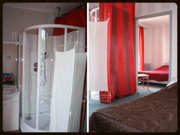hotelvire hotelmoderne-vire chambres gite hotel a vire-chambre standing