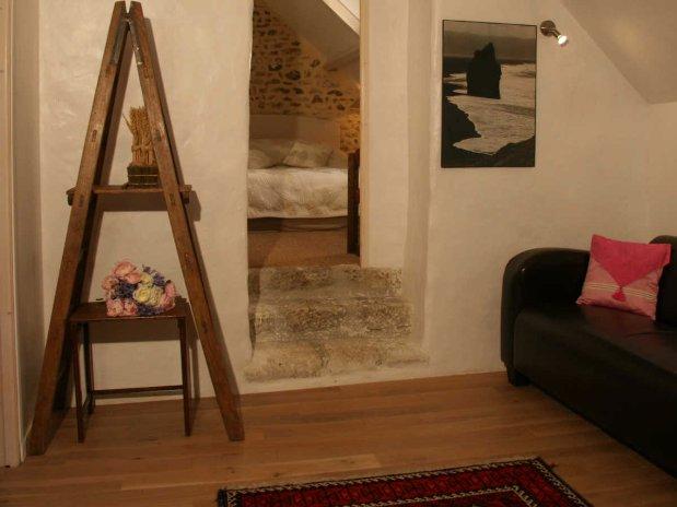 moulin de lonceux-chambre d'hôtes-salon-hébergement-garnet-eur et loir-suite familialle