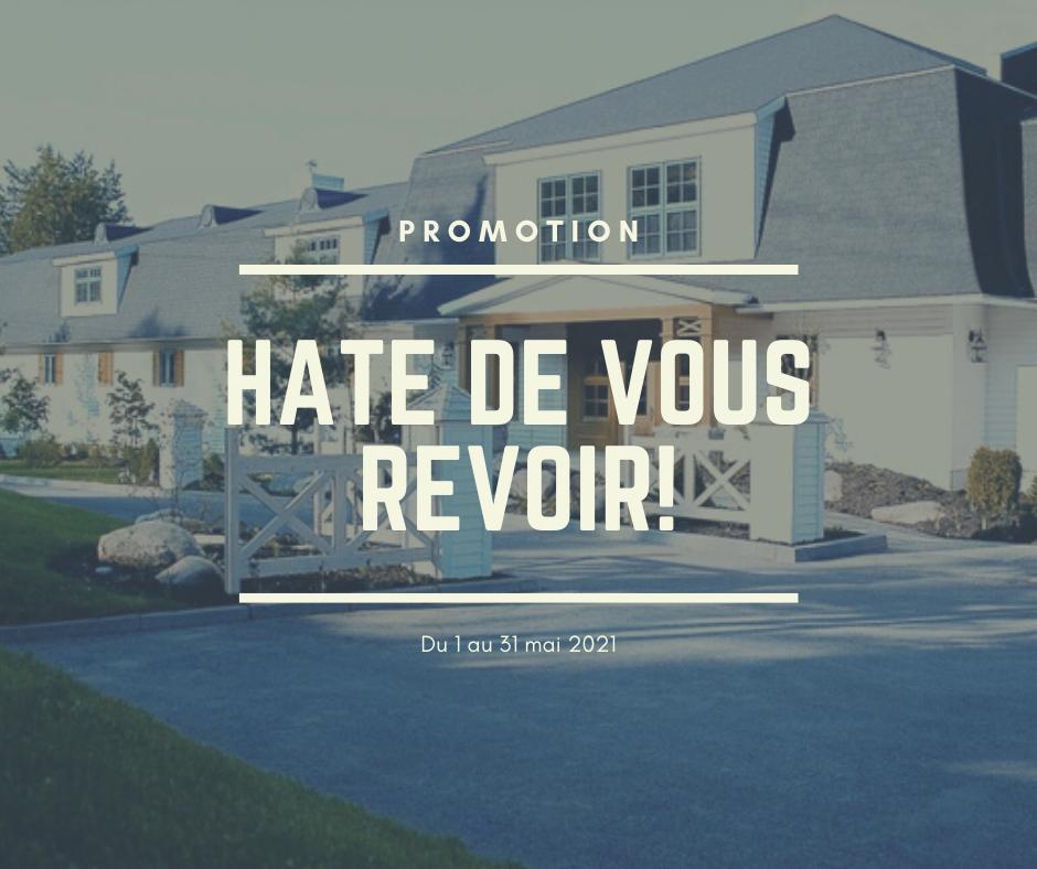 HÂTE DE VOUS REVOIR! 31