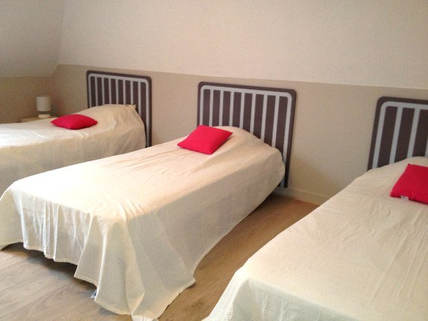 chambre 3 lits dortoir perchoir