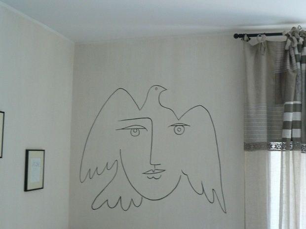 Picasso chambre d 39 h tes de charme grasse de la cania - Chambre d hote de charme angers ...