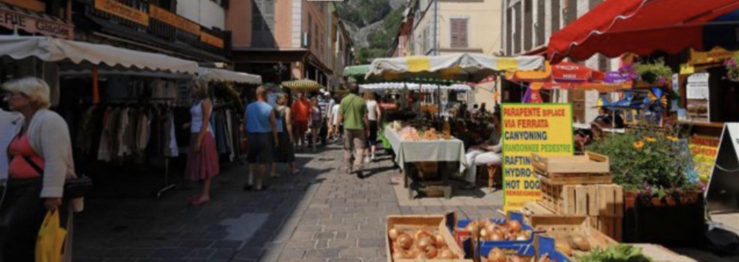 marché de Bourg d'Oisons