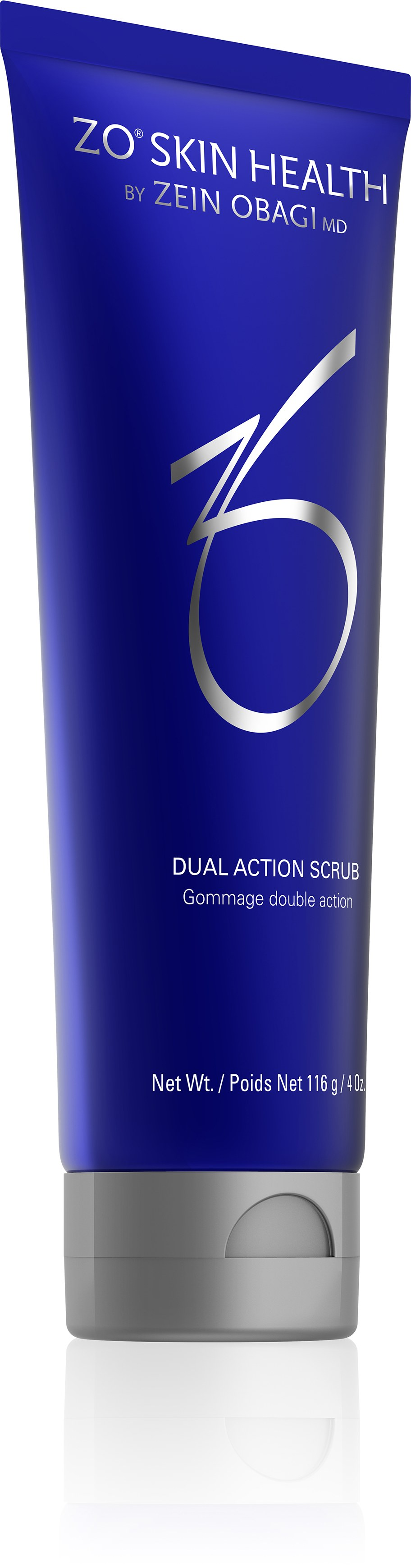 Dual action scrub