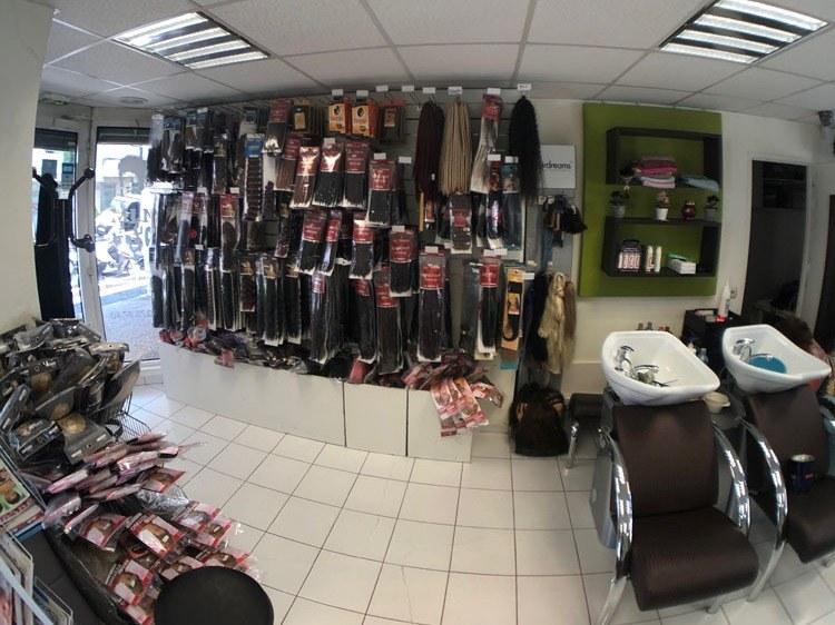 Salon de coiffure - intérieur