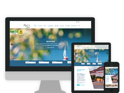 site internet hotel