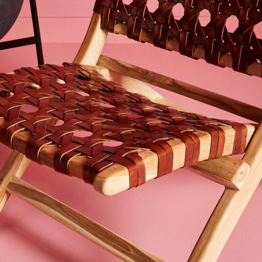 fauteuil-gardian-cuir-tresse 3