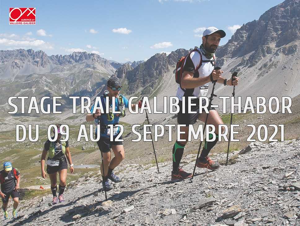 Stage trail septembre