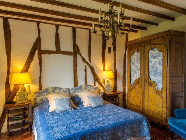 Cuq en Terrasses chambre double twin La Lauragais