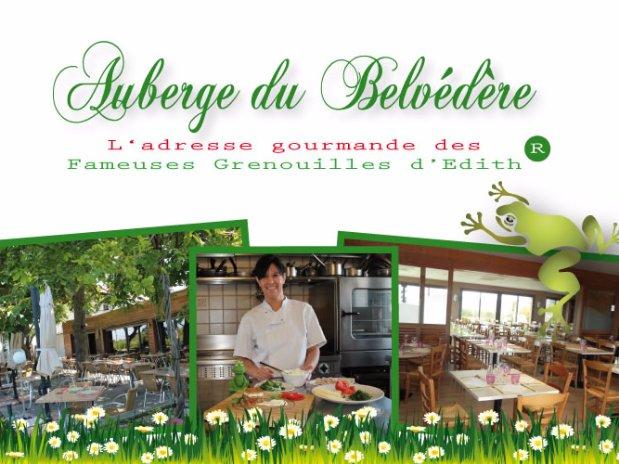 Restaurant auberge du belvedere