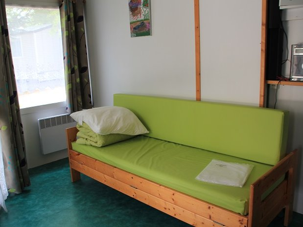 Camping Lolivier Chalet 5 personnes - junas  - Nimes - Camargue