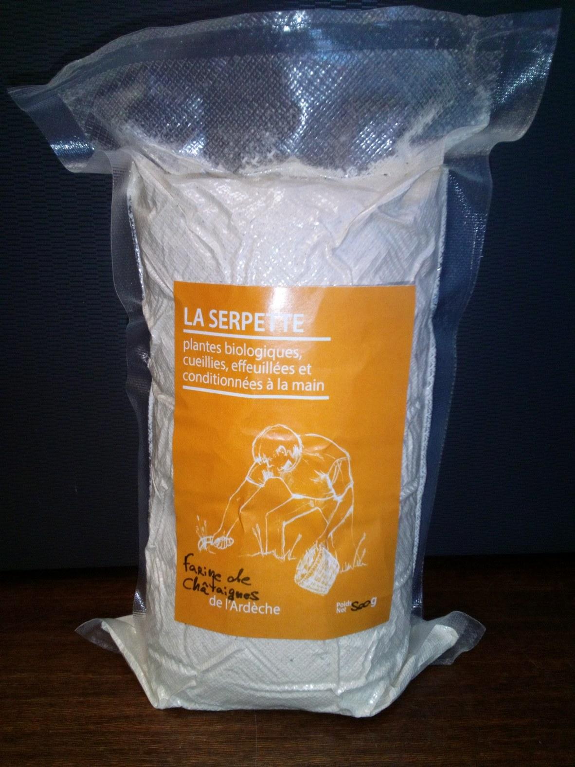 Farine de châtaigne d'Ardèche Bio
