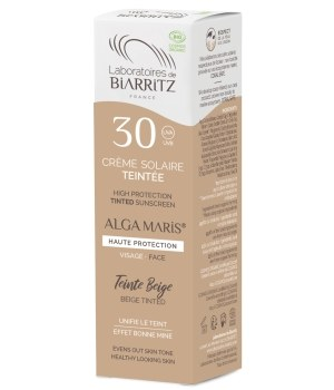 Crème solaire visage Teintée SPF30 beige - 50 ml