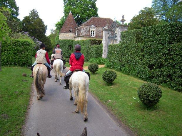weekend equitation dans le perche
