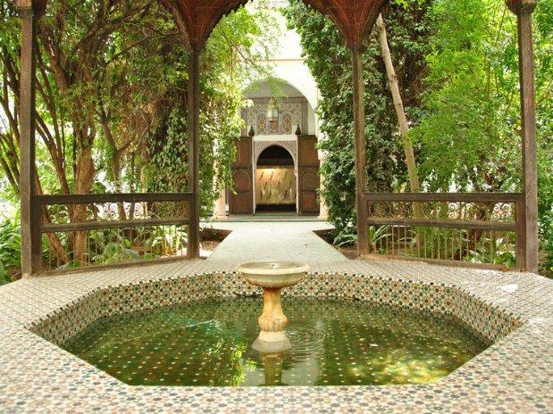 musée dar si said riad chamali medina marrakech morocco