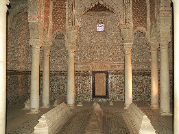 saadien tombs - city tours - marrakech - morocco