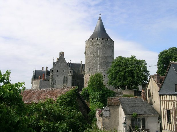 Chateaudun castle
