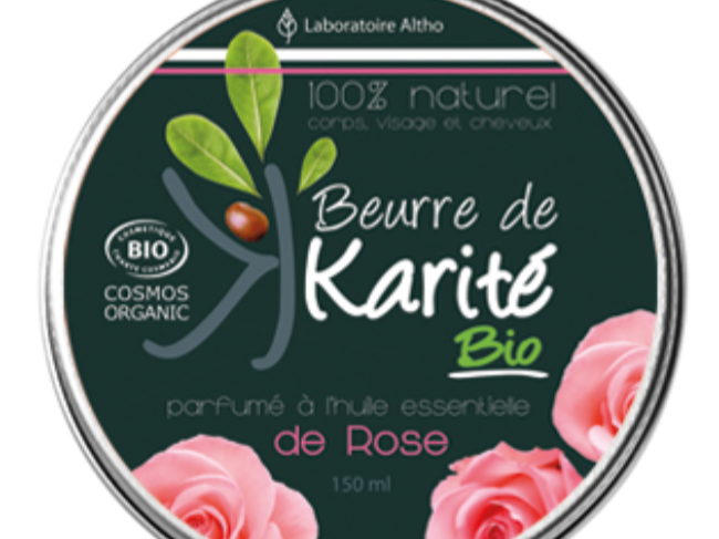 beurre de karité rose - Les trésors de Valérie - Frauenberg - Moselle