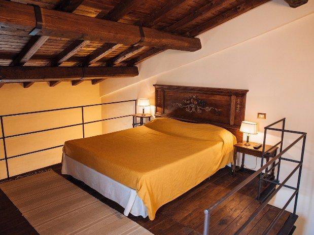 Castello Santa Margherita Cori Casa di Polluce Zona notte