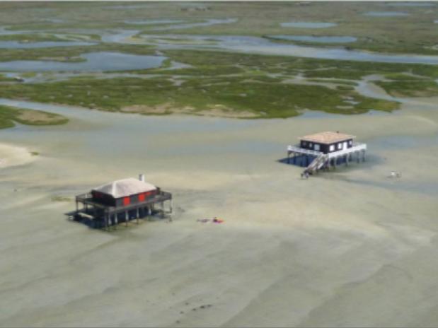 cabanes tchanquées bassin d'Arcachon