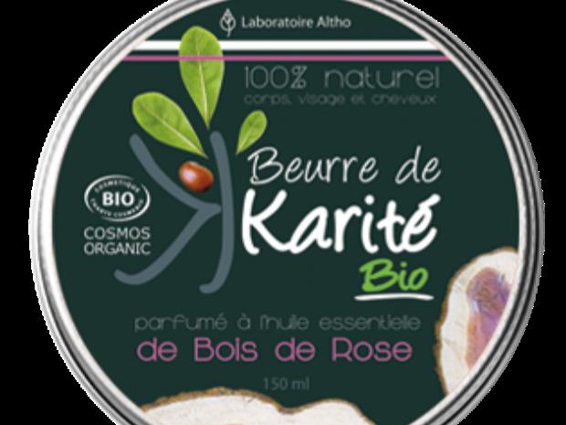 beurre de karité bois de rose - Les Trésors de Valérie - Frauenberg - Moselle