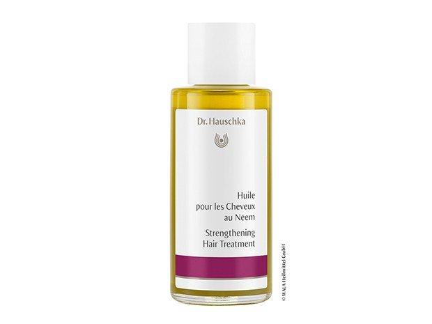 Huile pour les cheveux au neem