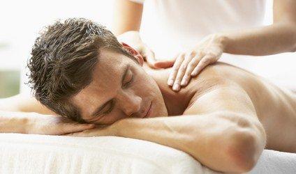 massage dos homme